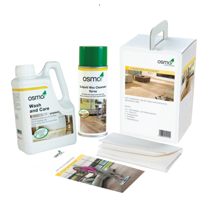 Picture of Osmo Maintenance Kit for Oiled Wood Floors