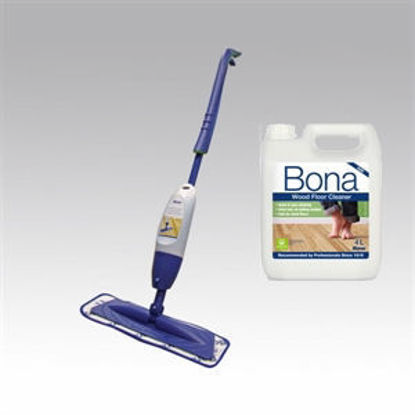 Picture of Bona Wood Spray Mop with Bona 4L Cleaner Refill