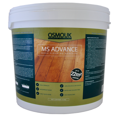 Picture of Osmo MS ADVANCE Flexible Trowel Grade Wood Flooring Adhesive