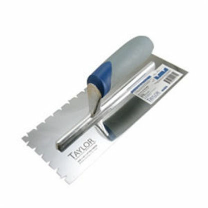 Picture of Taylor Timberline Flat V-Notch Trowel