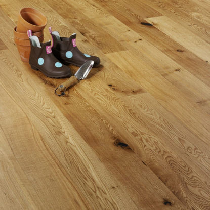 Picture of Clementine Engineered Oak Rustic Brushed & Lacquered  VA19