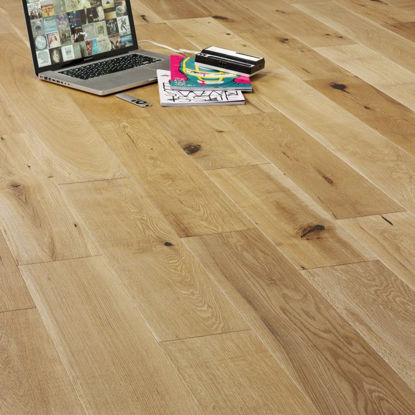Picture of Augustus Engineered Oak Rustic Brushed & UV Oiled  VE33