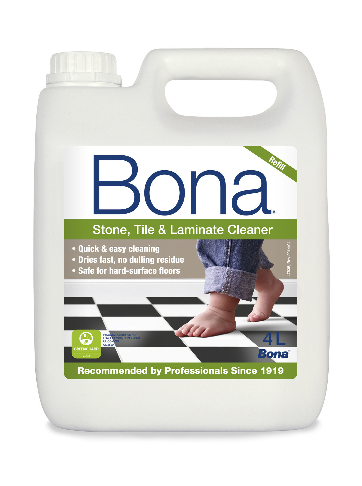 Picture of Bona Spray Mop Refills 4L