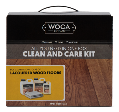 Picture of WOCA Clean & Care Kit for Laminated & Lacquered Floors